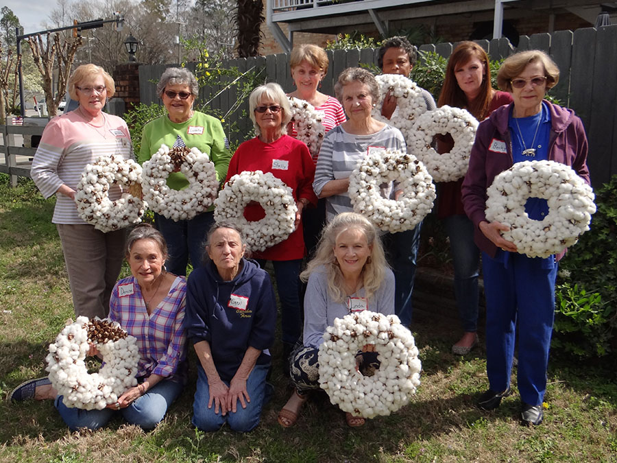 Cotton Wreath Workshop